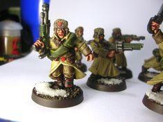 Ice Warriors, 40k Imperial Guard, Warhammer 40k, Snow Globes, Army, Gi Joe, Military, Warhammer 40000