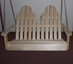 Prairie Leisure Design Adirondack 4 ft Porch Swing