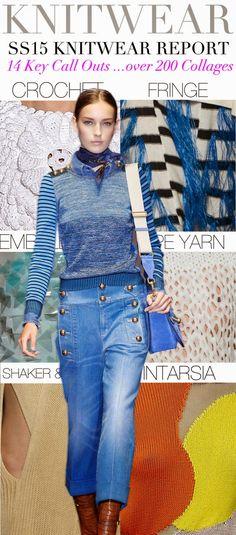 S/S 15 Knitwear Trends