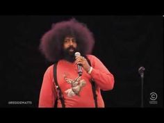 When Reggie Watts is not on COMEDY BANG BANG, he's spinning up a mix of beats and comedy. Check out this video live from Central Park (2012). Listen for more Reggie on THE JIM GAFFIGAN SHOW. Discover full episodes at http://www.tvland.com/shows/the-jim-gaffigan-show.