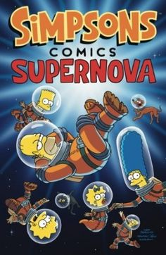 Matt Groening – Simpsons Supernova  #Simpsons