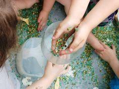 Sensory tub Rice
