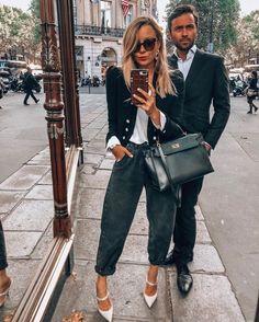 trendy: vem ver como usar o slouchy jeans o novo hit de 2020 – RG PRÓPRIO by Lu K! Fashion 2020, Look Fashion, Fashion Outfits, Womens Fashion, Zara Fashion, Jean Outfits, Cool Outfits, Casual Outfits, Style Masculin