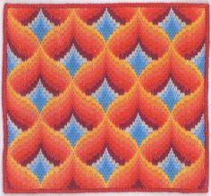 Tony's Handwerkblog: Bargello patronen