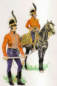 """CAZADORES DE LA REINA  Fue organizado como 4º Escuadrón de Húsares en noviembre de 1806, y fueron también conocidos como """"Carabineros de Herrera"""" pues fue su primer jefe D.Diego de Herrera, andaluz avecindado en Buenos Aires.  Los Cazadores de la Reina se encontraron en el combate de Perdriel, recibiendo por su bravo comportamiento un escudo de distinción con el lema:""""Voluntarios Reconquistadores de Buenos Aires """"  En 1807 tomaron parte en los combates de Quilmes  y Barrancas."""