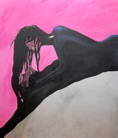 ARTFINDER: Moment by Komal Madar - This painting captures a moment between two lovers.