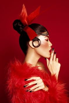 "indonesianmodels: ""Melinda Priskila by Ryan Tandya for Beauty Trend Centre's Oriental Beauty "" exhibition feauturing Puspita Martha Tilaar Graduates """