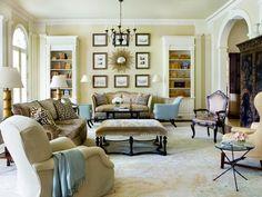 Suzanne Kasler, interior designer, living room