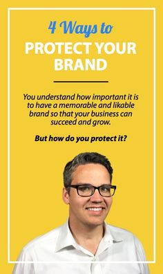 You understand how important it is to have a memorable and likable brand so that your business can succeed and grow.  Because of this, you agonized over your company's brand name. It needed to appeal to your customers while also representing the heart and soul of your company.  But what happens if a competitor tries to steal your brand — how do you protect it?