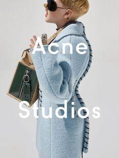 Frasse Johansson pose pour Acne Studios ! | MilK - Le magazine de mode enfant