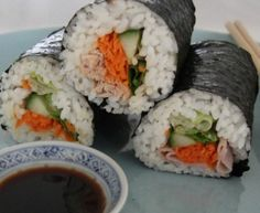 Lunchbox handrolls, or as we call them, Japanese sandwiches