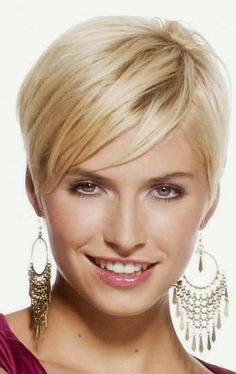 very short blonde pixie haircut Blonde Pixie Haircut, Short Blonde Haircuts, Cute Hairstyles For Short Hair, Blonde Hairstyles, Pixie Haircuts, Stylish Hairstyles, Hairstyles Haircuts, Hair Styles 2014, Short Hair Styles