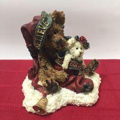 Boyd's Bears 1998 Believe Honey B Elfberg With Gabriella Figurine Christmas