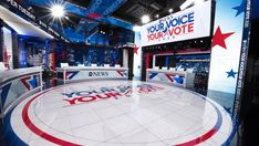 ABC News Bets on Studio Overhaul to Nab News Viewers – Variety Abc News Anchors, The Anchor Holds, Main News, George Stephanopoulos, Tv Set Design, Super Tuesday, Tv Sets, Digital News, First Tv