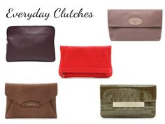 Glamour in the County's choice of everyday clutch bags