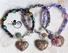 Un preferito personale dal mio negozio Etsy https://www.etsy.com/it/listing/225807352/bracciale-macrame-bracciale-fimo-cuore