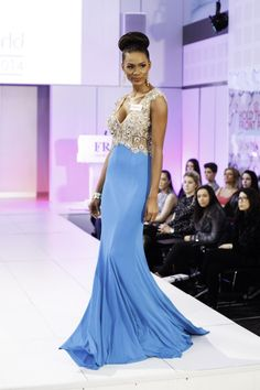 Miss World Génesis Davila Puerto Rico 2014 in Evening Gown