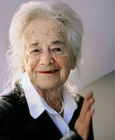 """German Jewish lyrical poet Hilde Domin: """"I'm lying/in your arms, love,/like an almond in its shell."""""""