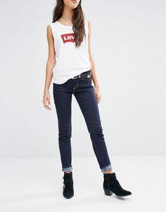 c5c2ebff2a48 Image 1 of Levis 711 Mid Rise Skinny Jeans Mid Rise Skinny Jeans, Levis  Jeans