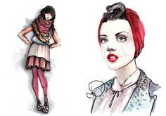 30 Fashion Illustrators You Can't Miss Part 3