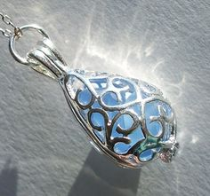 And this too....Sea Glass Jewelry  Blue Sea Glass Necklace  by BeachGlassMemories, $18.98