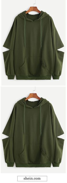 Army Green Drop Shou