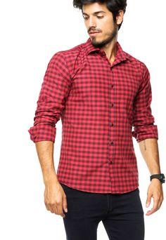 dc5c38ffde867 Mejores 16 imágenes de Camisa roja en Pinterest