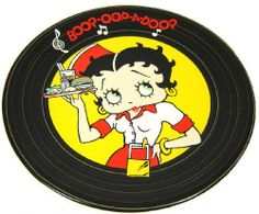 Betty Boop Diner Design Plate by Lincoln. $17.95. Made of ceramic and measures 10 inches in diameter. This is a single plate.. Cartoon diner designed ceramic plate made like a vintage LP record. Vinyl record style Betty Boop diner collector plate. Perfect for Betty Boop fans and collectors. Betty Boop Diner Plate