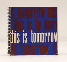 This Is Tomorrow. - Peter Harrington Rare & First Edition Books