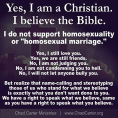You can still be deeply rooted Christian,and still love a person who is homosexual.You may not like the act but does not mean you hate the person. This is a myth that as been going on for awhile and needs to stop because this is not true for everyone!