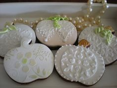Autumn wedding cookies | Cookie Connection
