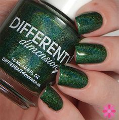 DIFFERENT dimension Imperium Sine Fine for August 2015 A Box, Indied Swatch  Thank you, @notoriousnicky! <3