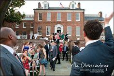 wedding at a historic property