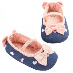 Lovely Toddler Baby Girl Soft Sole Princess Shoes Autumn Baby Shoes  First Walkers Bow Prewalker Crib Shoes 0-18M #Affiliate