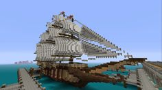 Hey everyone check out my medieval ship design! More builds are coming from my minecraft group! My group plays on Xbox One, let me know what you think.