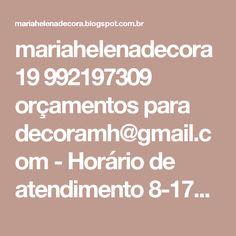 mariahelenadecora 19 992197309 orçamentos para decoramh@gmail.com - Horário de atendimento 8-17hrs: Patrulha Canina