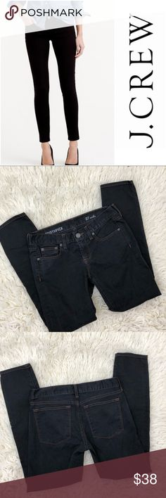"""J Crew Toothpick Ankle J.Crew Toothpick Ankle in an off black. Size 27  • inseam 27"""" • Rise 8"""" • perfect condition - no visible flaws   (111) J. Crew Jeans Ankle & Cropped"""