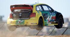 Volkswagen Polo rallycross car