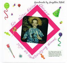 Faschingskostüm mit wenigen Handgriffen selbst gemacht  (Größe 12 x 12cm) Kinderalbum