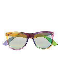Varsity Blues    Xhilaration for Target sunglasses, $13.