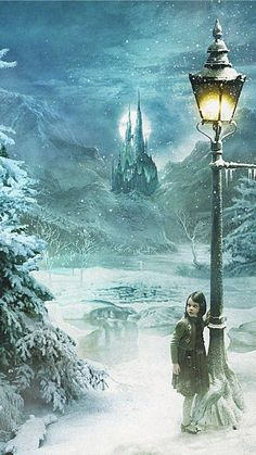 The Chronicles of Narnia iPhone wallpaper Narnia Lamp Post, Narnia 3, Lucy Pevensie, Georgie Henley, Harry Potter, Chronicles Of Narnia, Cs Lewis, Fairy Tales, Illustration