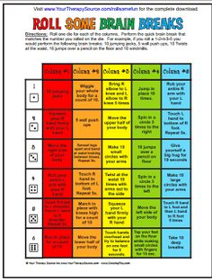 Teach123 - tips for teaching elementary school: Winter Wiggles call for brain breaks