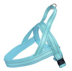Reflective Padded Soft Dog Harness Safe Harness No Pull Walking Pet Harnesses for Medium / Large Dogs, Turquoise >>> Additional details at the pin image, click it  : Harnesses for dogs