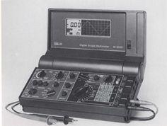 Digital Scope Multimeter M 2050 for Metrawatt by F.A. Porsche