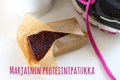 Marjainen proteiinipatukka Fodmap, Healthy Baking, Ethnic Recipes, Food, Essen, Yemek, Meals