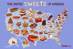 Signature Dessert of Each State