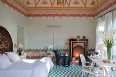 Francis Ford Coppola's new Italian resort Palazzo Margherita, located in the Basilicata region of Southern Italy. #travel