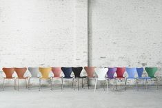 2015 new color launches for Series 7 Chairs by Arne Jacobsen for Fritz Hansen, Available at http://morlensinoway.com/