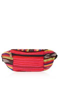 Aztec Stripe Bumbag