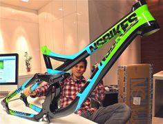 Sneak Peek: First Glimpse of NS Downhill Bike - Features - Vital MTB